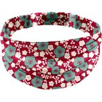 Headscarf headband- Adult size ruby cherry tree - PPMC