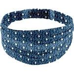 Headscarf headband- Adult size blue elephant - PPMC