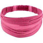 Headscarf headband- Adult size etoile or fuchsia - PPMC