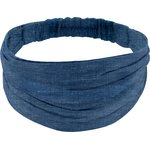 Headscarf headband- Adult size light denim - PPMC