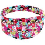 Headscarf headband- Adult size kokeshis - PPMC