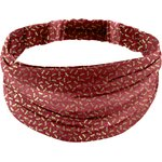 Headscarf headband- Adult size ruby dragonfly - PPMC