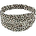 Headscarf headband- Adult size leopard print - PPMC