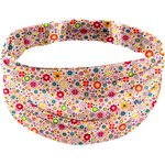 Headscarf headband- Adult size pink meadow - PPMC
