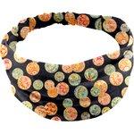 Headscarf headband- Baby size golden bubbles - PPMC