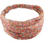 Headscarf headband- Baby size peach flower - PPMC