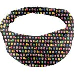 Headscarf headband- Baby size multicolored owl - PPMC