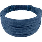 Headscarf headband- child size light denim - PPMC