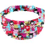 Headscarf headband- child size kokeshis - PPMC