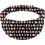 Headscarf headband- child size multicolored owl - PPMC