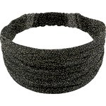 Headscarf headband- child size noir pailleté - PPMC