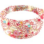 Headscarf headband- child size flowers origamis  - PPMC