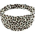 Headscarf headband- child size leopard print - PPMC