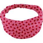 Turbantes para niña cuadros vichy rojo y mariquitas - PPMC