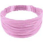 Turbantes para niña cuadros vichy fucsia - PPMC