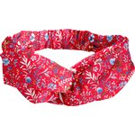 crossed headband cherry cornflower - PPMC