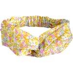 crossed headband mimosa jaune rose - PPMC