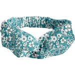 crossed headband celadon violette - PPMC