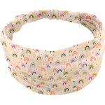Headscarf headband- Baby size rainbow - PPMC