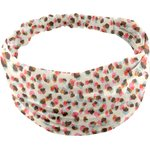 Headscarf headband- Baby size confetti aqua - PPMC