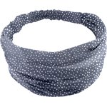 Headscarf headband- Baby size etoile argent jean - PPMC