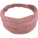Turbantes para bebé gasa lurex rosa polvoriento - PPMC