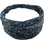 Headscarf headband- Baby size paquerette marine - PPMC