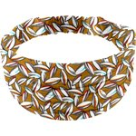 Headscarf headband- child size cocoa pods - PPMC