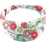 Headscarf headband- child size powdered  dahlia - PPMC