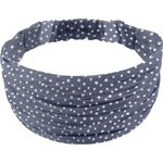 Headscarf headband- child size silver star jeans - PPMC