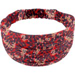 Headscarf headband- child size vermilion foliage - PPMC