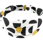 Headscarf headband- child size golden moon - PPMC