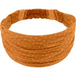 Headscarf headband- child size caramel golden straw - PPMC