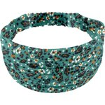 Headscarf headband- child size jade panther - PPMC