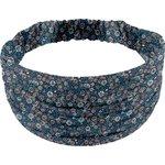 Headscarf headband- child size paquerette marine - PPMC