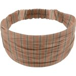 Headscarf headband- child size bronze copper stripe  - PPMC