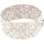 Stretch jersey headband  ethnique sable - PPMC