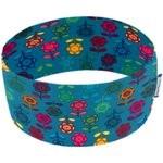 Stretch jersey headband  naif fleur saphir - PPMC