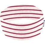 Stretch jersey headband   rayure rose pailleté - PPMC