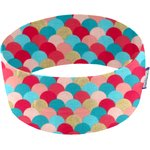 Stretch jersey headband    rond coloré or - PPMC