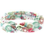 Wire headband retro powdered  dahlia - PPMC