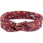 Wire headband retro vermilion foliage - PPMC