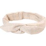 Wire headband retro  glitter linen - PPMC