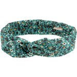 Wire headband retro jade panther - PPMC