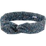 Wire headband retro paquerette marine - PPMC