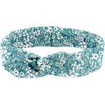 Wire headband retro celadon violette - PPMC