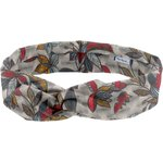 Wire headband retro wax flowery - PPMC