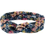 Wire headband retro pink blue dalhia - PPMC