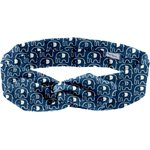 Wire headband retro blue elephant - PPMC