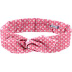 Wire headband retro small flowers pink blusher - PPMC